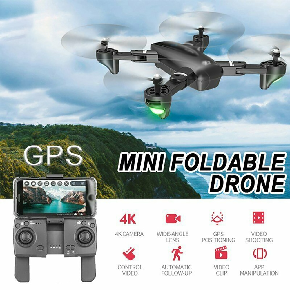 Mini RC Drone 4K HD GPS 5G 2.4G-4K Camera Professional Aerial Photography Helicopter Gravity Inducti