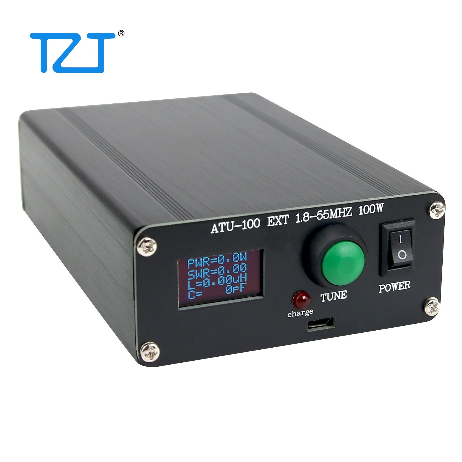 Assembled ATU-100 Automatic Antenna Tuner 5-100W 1.8-50MHz with 0.96-Inch OLED Display ATU100 Internal Battery enlarge