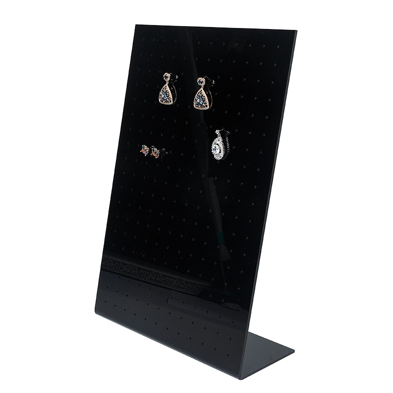 2020 Top sale new wholesale Jewerly Storage Portable  Plastic cases black display