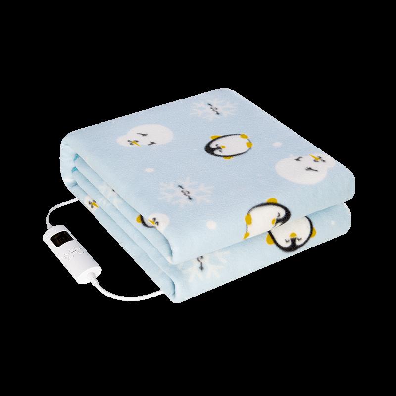 Mantas eléctricas para camas Algodón Doble, Manta de calefacción eléctrica Recargable, BD50EB