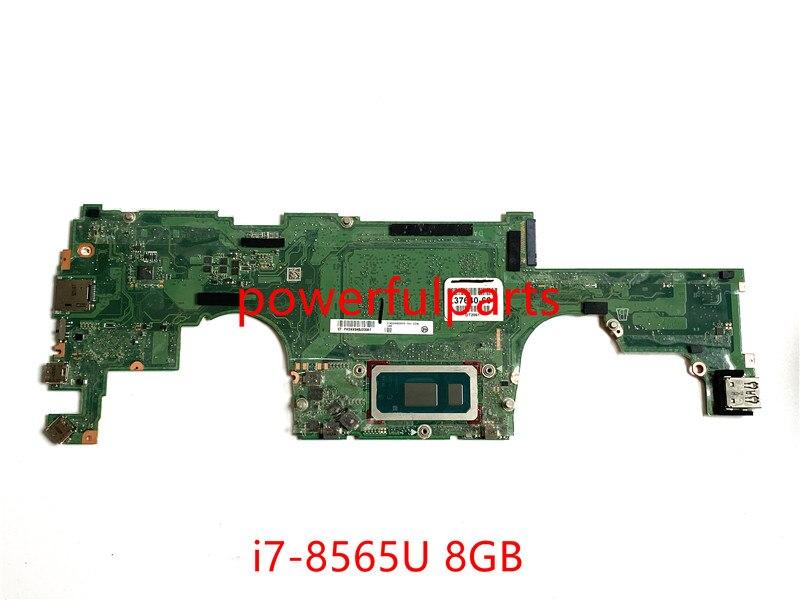 100% рабочий для HP specx360 13-AP материнская плата L37640-601 DA0X36MBAE0 с i7-8565U ЦП + 8 Гб ОЗУ протестирована ОК