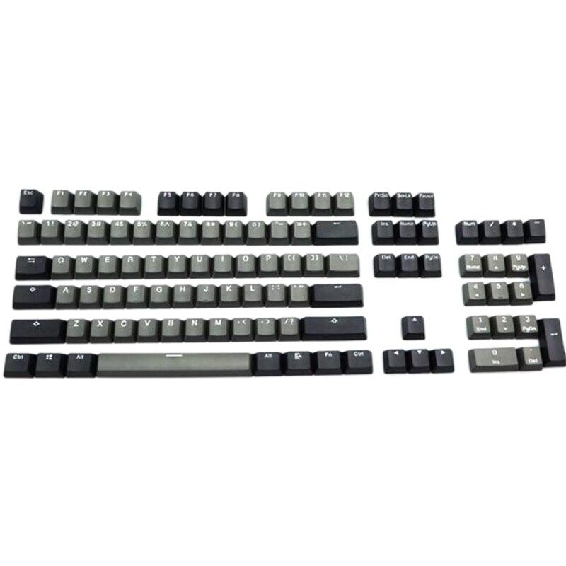أغطية مفاتيح ريترو للوحة المفاتيح الميكانيكية PBT ، 104 مفتاح سميك ، لمفاتيح Cherry MX ، 104/87/61