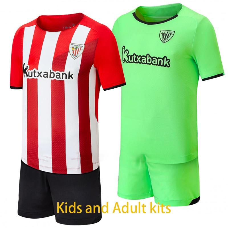 2021, 2022 nuevo Bilbao Club Atlético hombres Camiseta Camisetas Camiseta de Futbol...