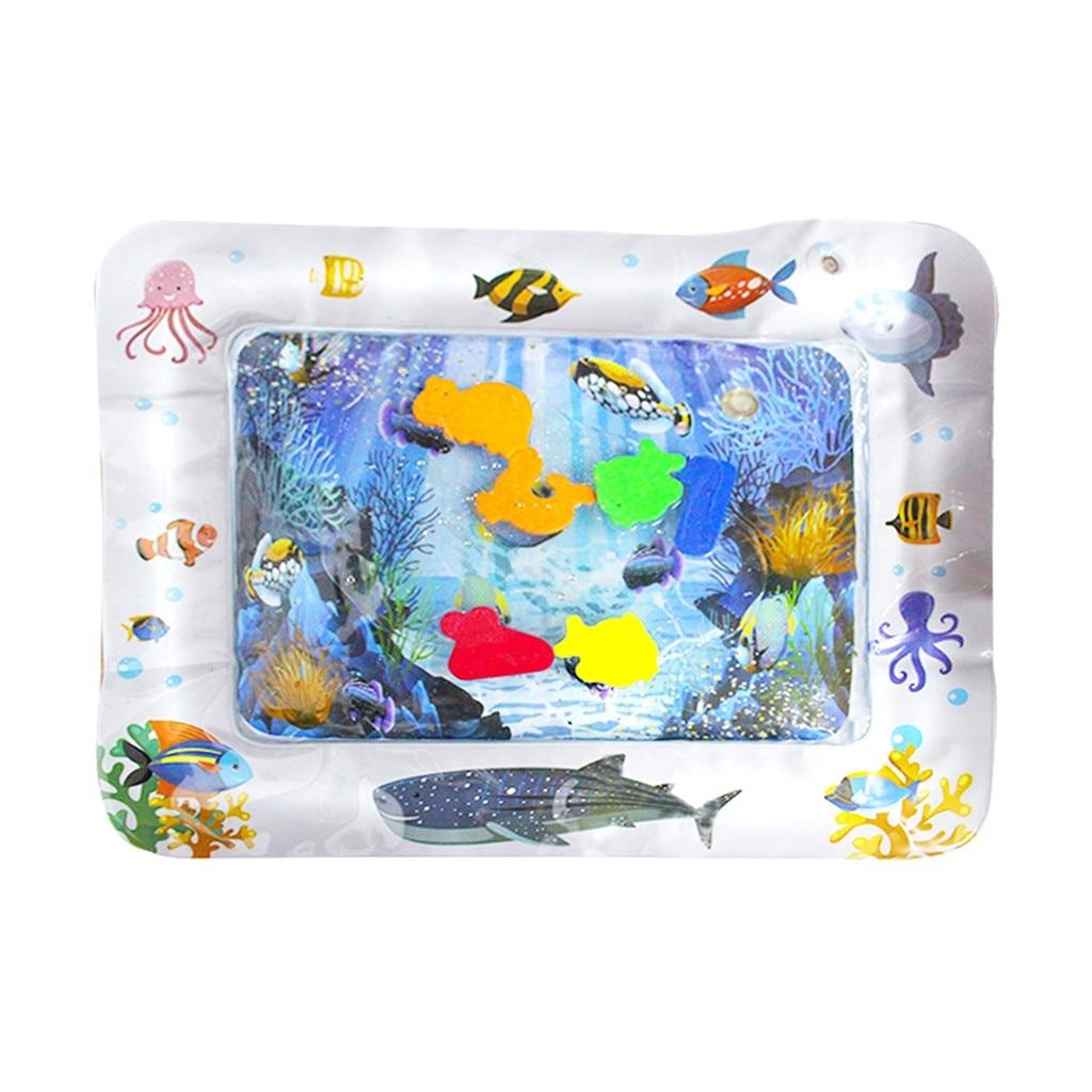 Colchoneta de agua inflable para bebés, centro de juegos de actividades divertidas para niños y bebés, bañera plegable, bañera, baignoire plegable, banheira