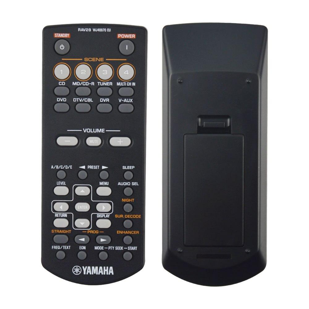 Novo rav28 wj40970eu para yamaha av amplificador receptor de controle remoto rav34 rav250 RX-V361 RX-V365 HTR-6030