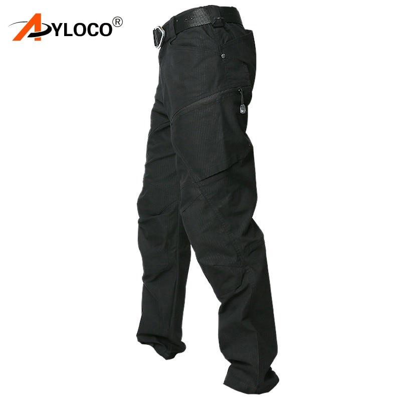 Outdoor Autumn Trekking Sport Trek Mountain Hunting Fishing Hiking pants Men Tactical Waterproof Pants SWAT Military Trousers