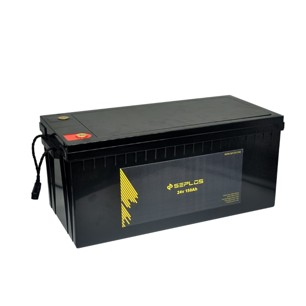 Proveedor Chino Seplos S24150 24V 150ah batería de iones de litio para camión batería de panel solar n150