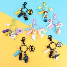Jouet histoire 4 PVC porte-clés anneaux Forky Bunny Alien Buzz Lightyear pour voiture clé sac pendentif Collection modèle jouets Figure pour cadeaux