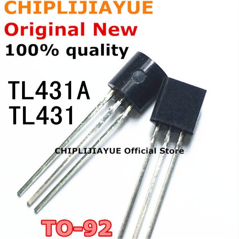 50 PIÈCES TL431A TO92 TL431 TO-92 431 IC nouvelle et originale Chipset