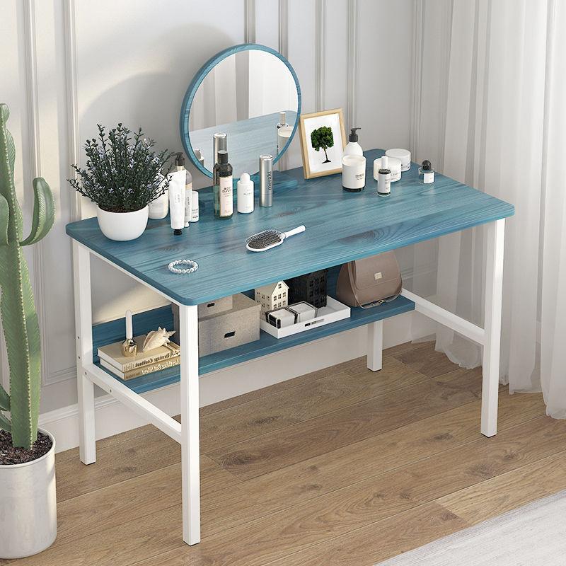 طاولة خلع الملابس مع مرآة البساطة الحديثة أثاث غرفة نوم الضمادات الخشب المواد الرئيسية فندق شقة صغيرة خلع الملابس الجدول