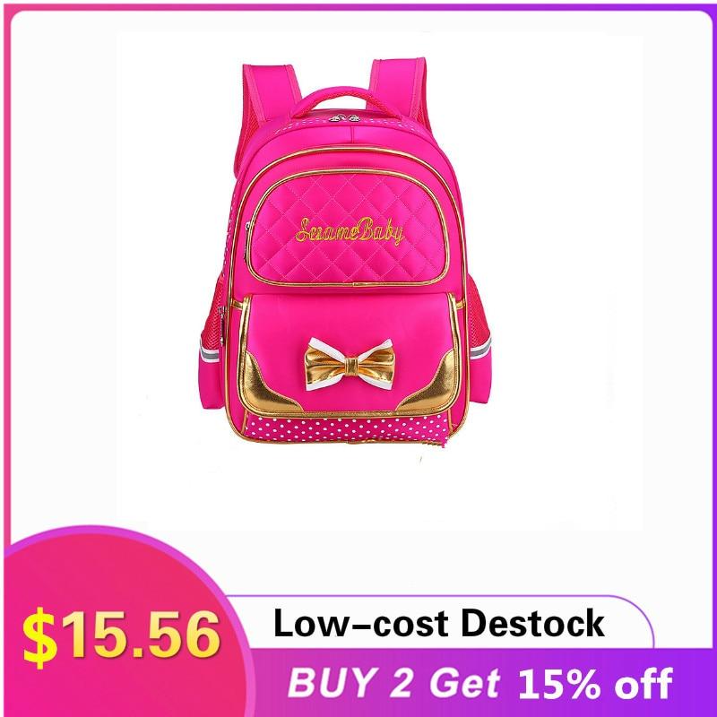 школьные рюкзаки thorka школьный рюкзак mc neill ergo light plus милашка 4 предмета Водонепроницаемые детские школьные сумки для девочек, школьный рюкзак принцессы, Детские рюкзаки с принтом, школьный рюкзак для детей