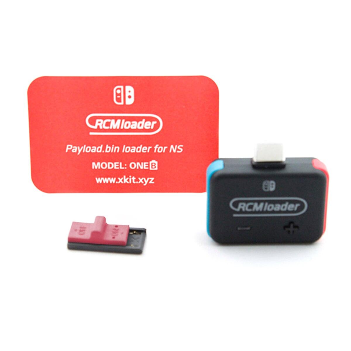 Новый портативный RCM погрузчик + RCM зажим в комплекте для Nintendo Switch NS HBL OS SX Полезная нагрузка USB ключ NSRCMHBLU Инжекционный диск Archiver