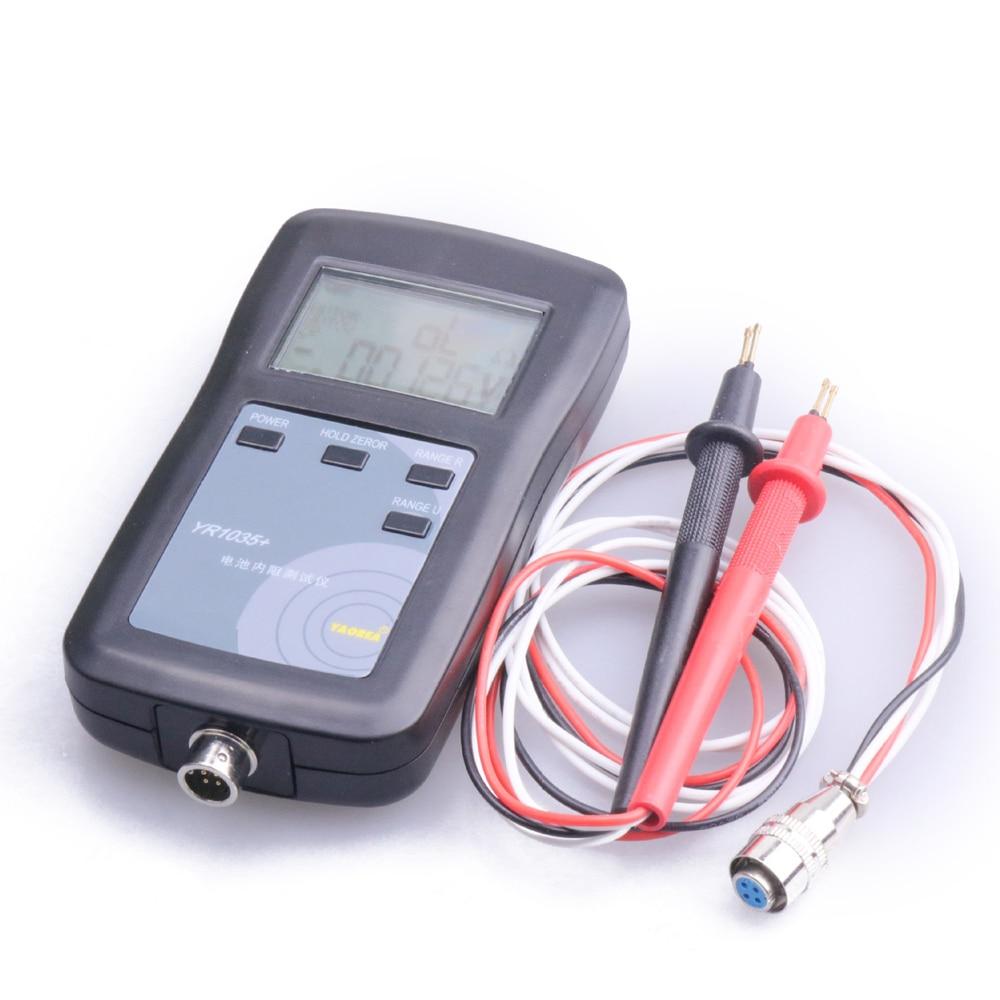 بطارية ليثيوم YR1035, بطارية ليثيوم أصلية عالية الدقة أداة اختبار المقاومة الداخلية 100 فولت مجموعة السيارة الكهربائية 18650