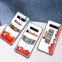 حقيبة لهاتف سامسونج جالاكسي S20 S10 5G S9 S8 Plus نوت 10 لايت 9 8 وسادة هوائية مضادة للسقوط