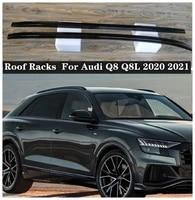 new high quality aluminum alloy car roof racks for audi q8 q8l 2020 2021 2022