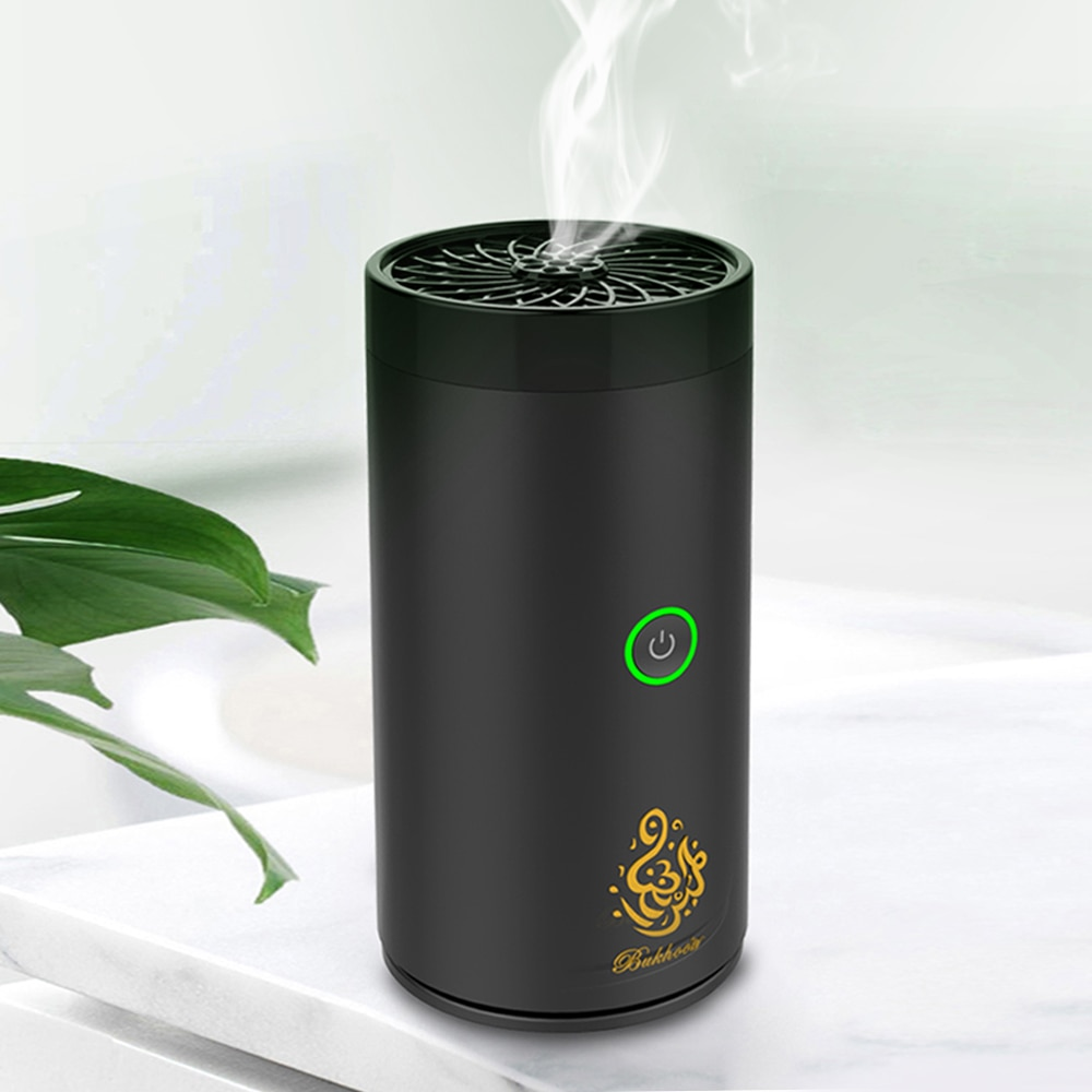 Arabic USB Mini Car Incense Burner Electronic Censer Automatic Air Freshener USB Bukhoor for Home Office Car Home Decoration