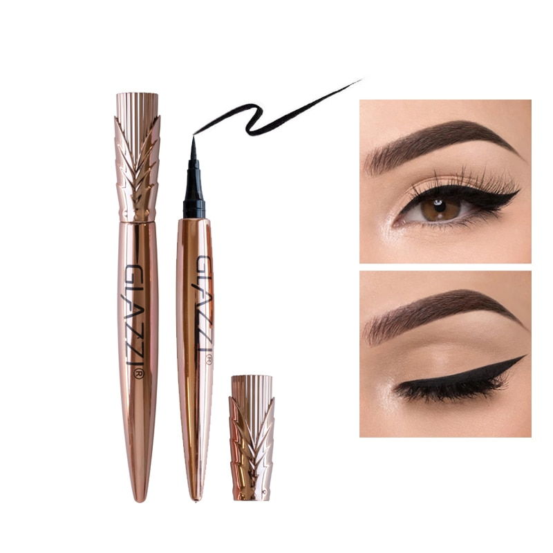 1PC Professional Women Ultimate Black Liquid Eyeliner Long-lasting Waterproof Quick-dry Eye Liner Pe