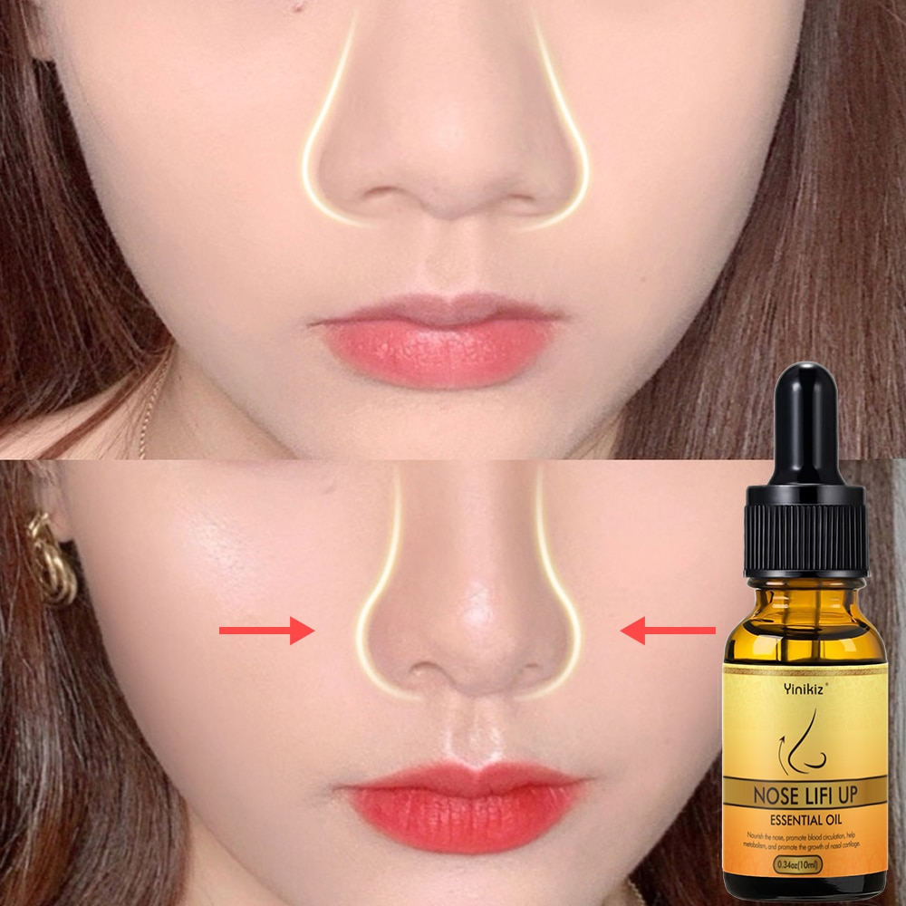 Nose Up Heighten Rhinoplasty Oil Collagen Firming Moisturizing Nasal Bone Remodeling Pure Natural No