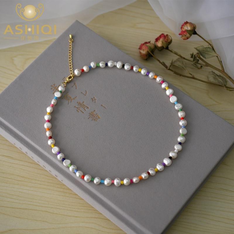 Женское-ожерелье-с-цветными-бусинами-ashiqi-7-8-мм