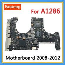 Testé Original A1286 carte mère pour MacBook Pro 15
