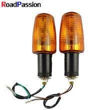 Road Passion moto indicatore di direzione per HONDA CB-1 VTR250 CB400SF VTEC 400 NC39 CB400 CB1300 VT250 Spada 250 BROS400