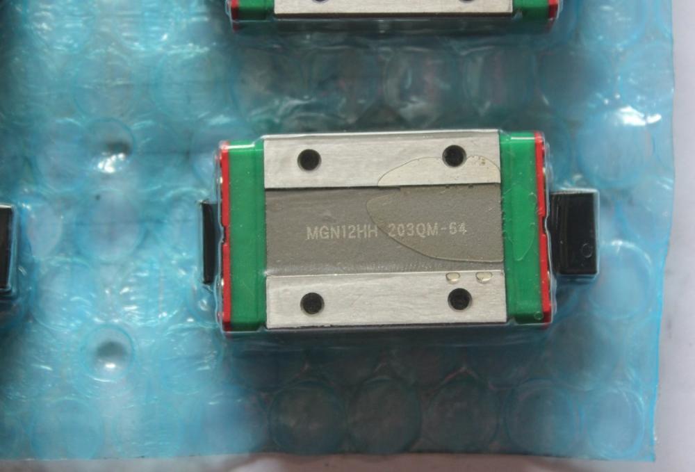 3 X MGN 12H MGNR12 2 X rail 350 milímetros comprimento MGNR12 1 X rail 250 milímetros comprimento