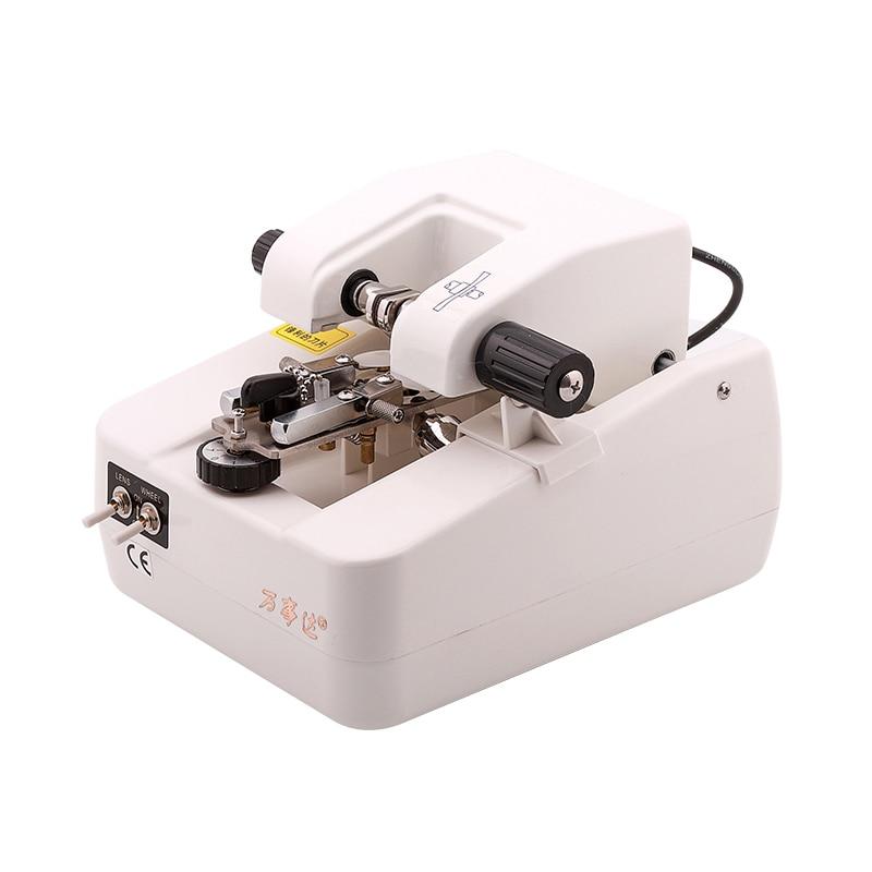 Low-noise motor half-frame lens drawing equipment for glasses slotting machine enlarge