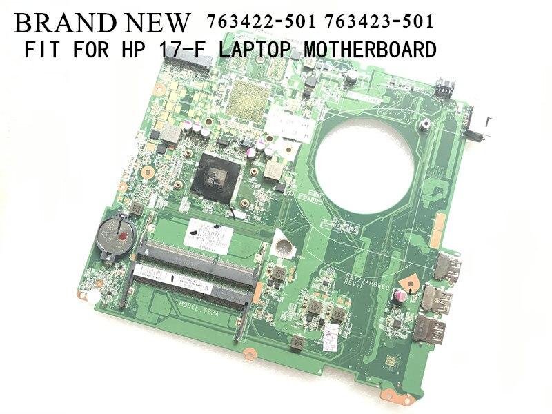 الأسهم العلامة التجارية الجديدة 763422-501 DAY22AMB6E0 / DAY21AMB6D0 ل HP 17-F اللوحة الأم للكمبيوتر المحمول على متن المعالج A8 / A10