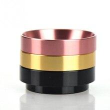 Poudre de café de bol de brassage danneau de dosage Intelligent en aluminium de 51/54/58mm pour le Portafilter dentonnoir de Barista dexpresso