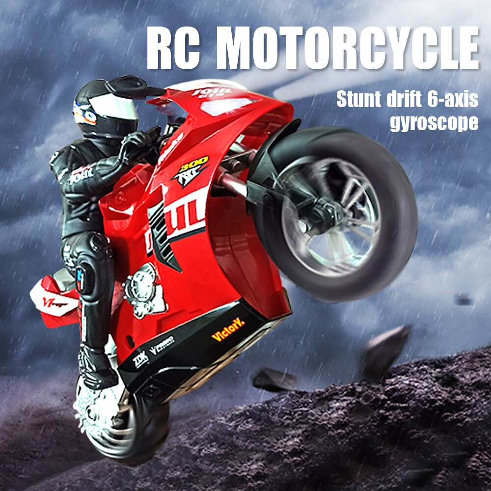 RC Motorcycle Radio Control Car Remote Controlled Toy Cars Drift 1:6 High Speed Motorbike Model Kit Stunt Car Toys For Boys Gift enlarge