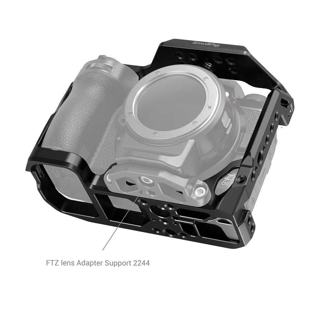 SmallRig Full Camera Cage for Nikon Z5/Z6/Z7/Z6II/Z7II Camera With Cold Shoe & NATO Rai Sony Accessories 2926 enlarge