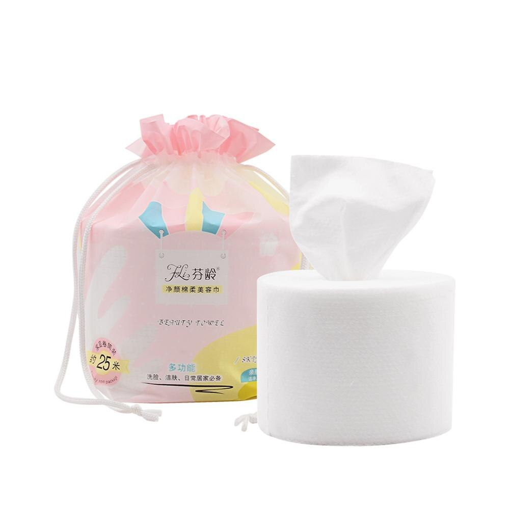 1 Roll Disposable Thickening Non-woven Beauty Salon Towel Quick Drying Women Face Cleaning Towel Car