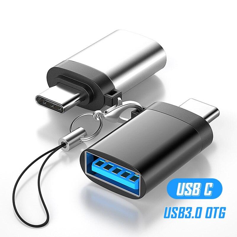 USB Tipo C USB 3,0 Adaptador de OTG USB Tipo C Convertidor...