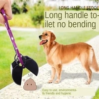 portable dogs walker long handle chin shit shovel cleaning pick up animal puppy cat waste excrement picker cleaning tools