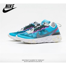 Nike Upcoming React Element 87 reactive element translucent gauze Women's jogging shoes size36-39