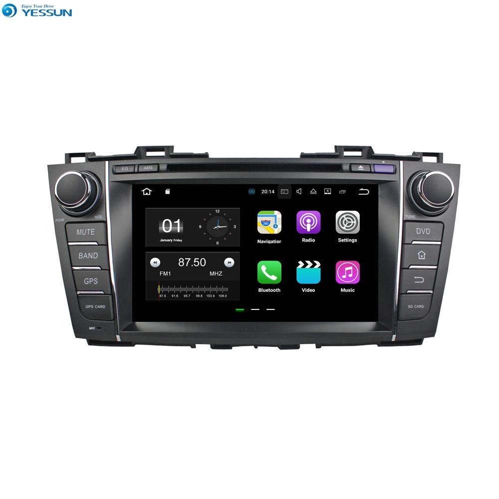 YESSUN para Mazda 5/Premacy 2009 ~ 2012 Android navegación del coche GPS Audio Video Radio Estéreo HD pantalla táctil reproductor Multimedia.