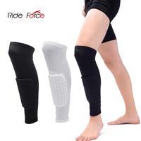 1PC Honeycomb Football Shields Soccer Shin Guard Football Legging Shin Pads Leg Sleeves Adult Support Protective Gear
