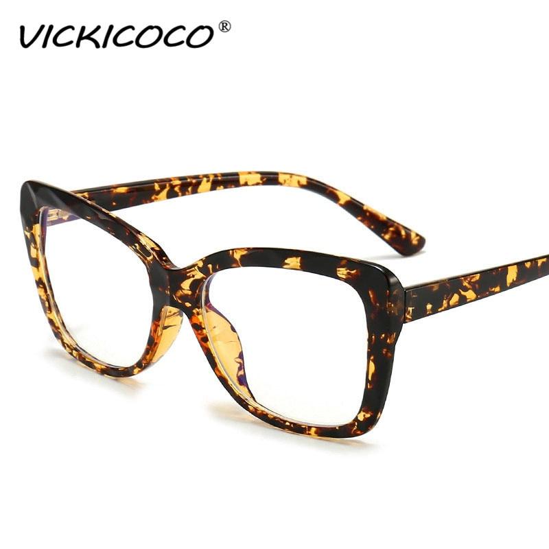 Fashion Cat Eye Female Glasses Frames 2020 Fashion Brand Ladies Sunglasses Luxury Anti-blue Light Go
