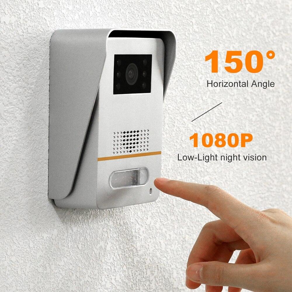 WiFi Video Intercom  Door Phone for Home Wireless TUYA Smart IP Door Intercom System Touch Screen 1080P Doorbell enlarge
