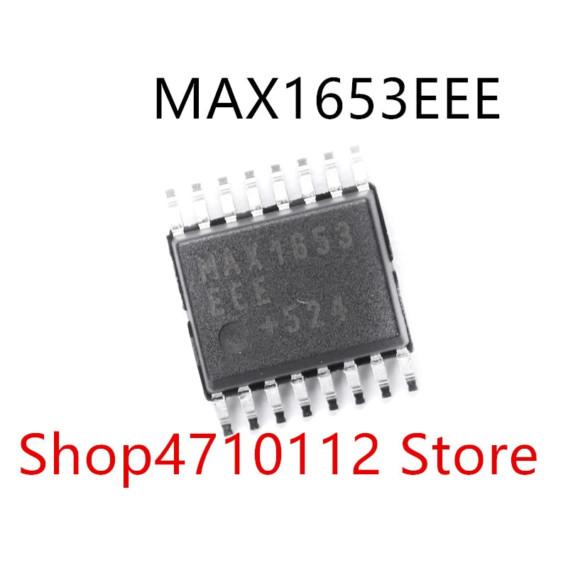 10PCS/LOT MAX1653EEE MAX1653 SSOP-16