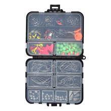 Оптовая продажа, набор рыболовных свинцовых крючков для рыбалки 20-шт, аксессуары для рыбалки на открытом воздухе