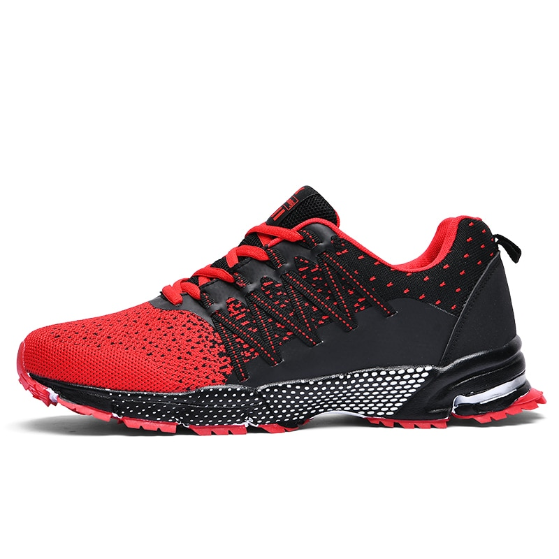 New 2020 Men Running Shoes Breathable Outdoor Sports Shoes Lightweight Sneakers for Men Comfortable Athletic Training Footwear rax men running shoes lightweight 2019 new style breathable gym running shoes outdoor sports sneakers for man tourism shoes