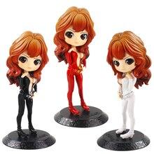 Anime Lupin III Rupan Sansei Mine fuji ko PVC figurines Q Posket poupées à collectionner modèle jouets 3style 16cm