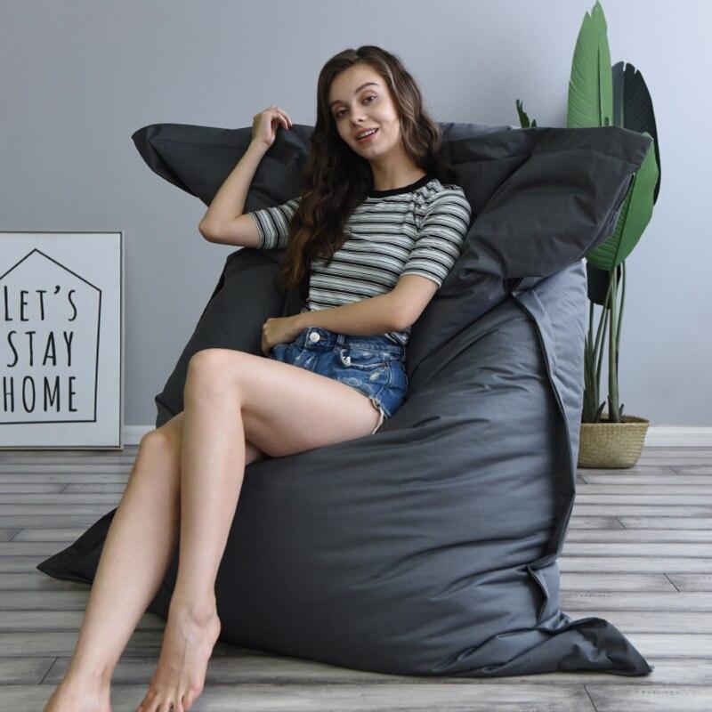 سوبر كبير غطاء الأرائك كسول الكراسي أكسفورد/القطن القماش فندق شقة سرير الشاطئ الترفيه غرفة المعيشة صالة السرير دروبشيبينغ