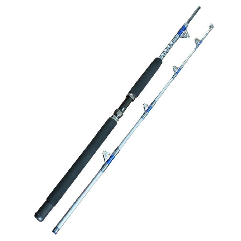 Deep Sea Metal Lure Fly Carp Boat Fishing Rods 1.8m  2.1m Carbon Rod  Iron Pole