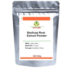 Skullcap Root Extract Powder (98% Baicalin) Scutellaria Baicalensis Extract