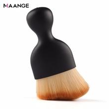 1 Pcs Contour Foundation Brush S Vorm Crème Blush Losse Poeder Make-Up Kwasten Multifunctionele Cosmetische Make Up Brush Beauty Tool