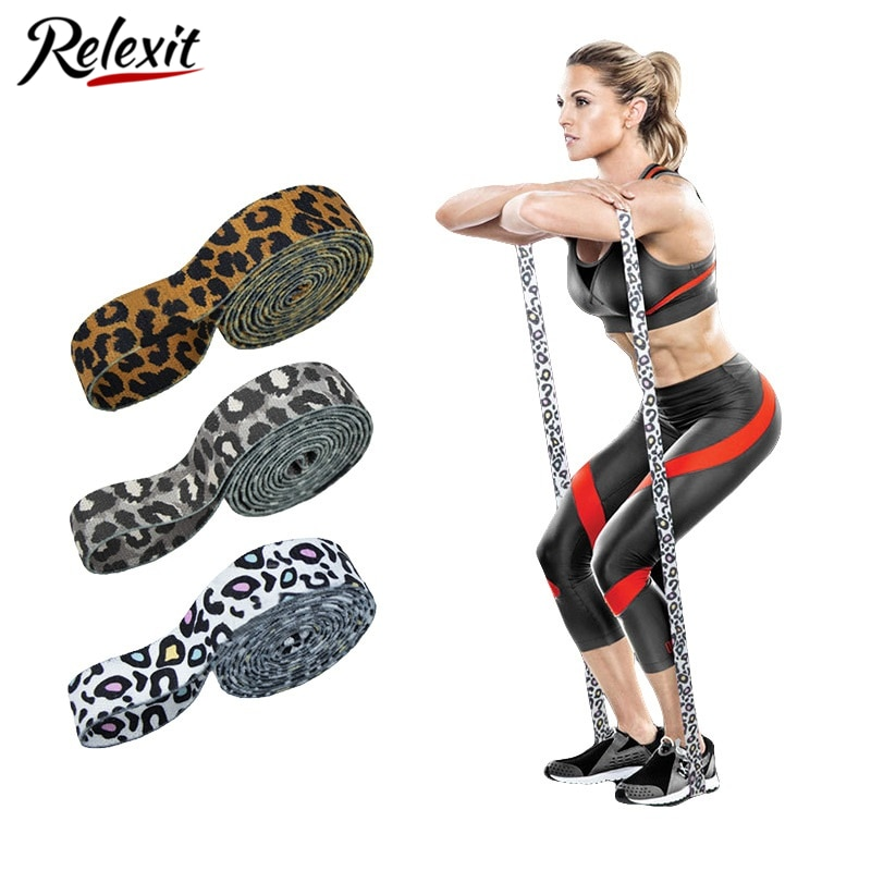 Stretch Resistance Bands Elastic Loop Bands for Fitness Yoga Strap Home Gym Exercise Equipment Booty Belt Training Pilates Belts yoga elastic stretching strap with loops exercise straps for physical therapy pilates ballet hamstring stretch bands