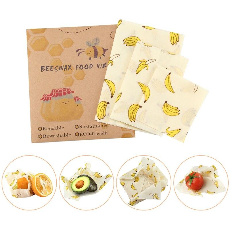 Reutilizável envoltório selo alimentos fresco mantendo envoltório tampa capa estiramento vácuo envoltório de alimentos cera de abelha pano ferramentas de cozinha