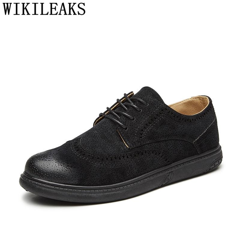 Brogues Mens Casual Shoes Hot Sale Men Leather Shoes Men Designer Sneakers For Men Shoes